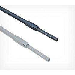 Трубка пластиковая телескопическая диаметром 9/12 мм (L=230-350 мм)