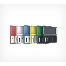 Кассета цен А8 с блокнотами цифр арт.150100