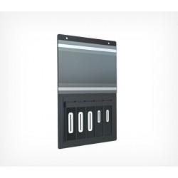 Кассета цен А4 с блокнотами цифр арт.222002