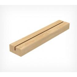 Деревянная подставка под меловую табличку формата А4
