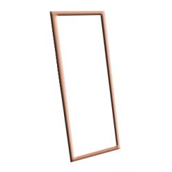 Зеркало настенное в багетной раме (570х1590 мм)