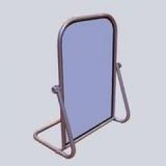 Зеркало напольное для обуви (400х600 мм) серый арт. 1306-1
